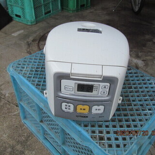 タイガー JAI-H550  マイコン電子ジャー 炊きたて 白 ...
