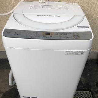 ★洗濯機6kg★SHARP2019年式 タダでお譲りします
