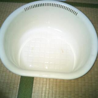 値下げしました!洗い桶