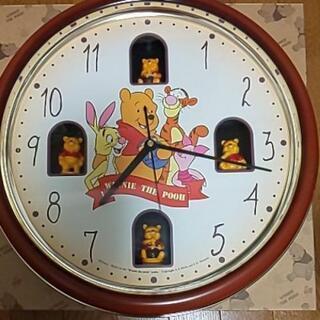 プーさん壁掛け時計 Pooh