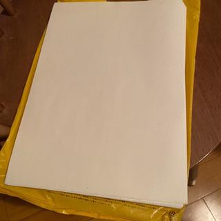 【お取引き中】B5 コピー用紙 使いかけもらってください