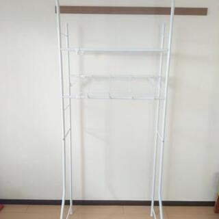 【決まりました】洗濯機上の収納棚 - 那覇市