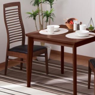 パイン素材 アジアン家具 椅子2脚付き