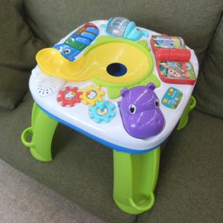 ▶知育おもちゃ テーブル 45×45×40 ブライトスターツ 電...