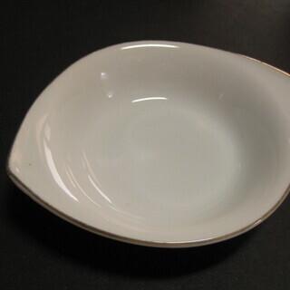 ノリタケ シンプル白小皿 10客 使用感あり