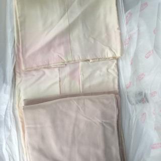 薄ピンクの着物