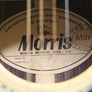 Morris モーリス W-30 アコースティックギター ハードケース付き W30 アコギ(R2018awxY) - 北見市