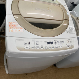 東芝 8.0kg 全自動洗濯機 マジックドラムDDインバーター ...