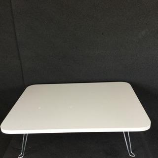 【激安】折り畳みミニテーブル グレー×シルバー