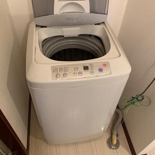 2007年式 haier 洗濯機の画像