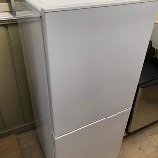美品 2019年製 ツインバード 霜取り不要 2ドア冷凍冷蔵庫 ...