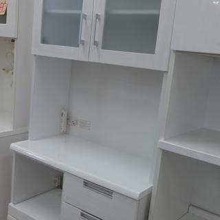 NITORI/ニトリ レンジボード 食器棚 DAHLIA-80KB-WH【ユーズドユーズ名古屋天白店】の画像
