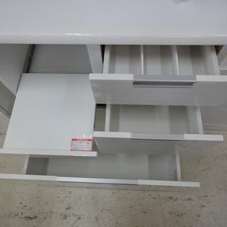 NITORI/ニトリ レンジボード 食器棚 DAHLIA-80KB-WH【ユーズドユーズ名古屋天白店】 - 家具