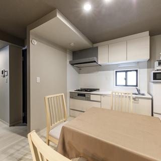 10月上旬~入居可能 短期賃貸アパート(2LDK)家具付 礼金・...