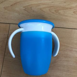 【譲渡者決定】ハンドル付きミラクルカップ ブルー