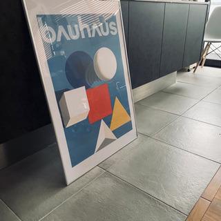 バウハウス Bauhaus 特大 ポスター 工芸 美術 建築 芸...
