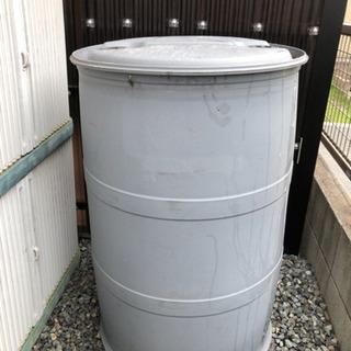 錆ないドラム缶! 樹脂ドラム 200リットル 貯水や入れ物などに...