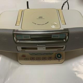 Panasonic、CD.MD.ラジカセ