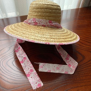 【夏を先取り!】女性用 麦わら帽子