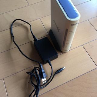 無線LAN親機 WHR2-G54