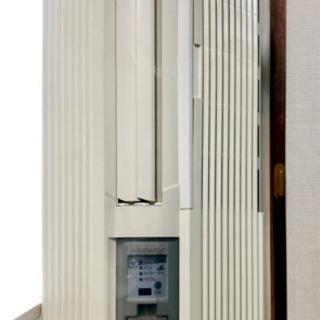 トヨトミ窓用エアコン(冷房専用)