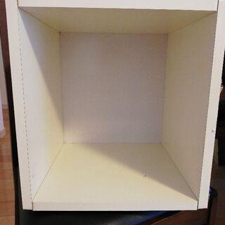 カラーボックス(白)無料
