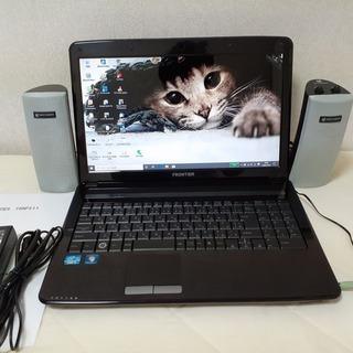 ☆core i5+SSDで快適☆FRONTIER 15インチ W...