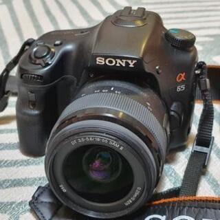 SONY ALPHA 65 カメラを売ります。