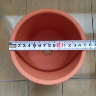 小型 テラコッタ鉢 2個