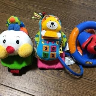 K's Kids ハッピー・トリオ ベビーカー用おもちゃ