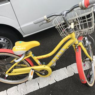 【交渉中】自転車黄色 20インチ ブリジストンイエロー ワイルドベリー