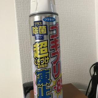 フマキラー ゴキブリ超凍止 -85℃ プラス除菌 スプレー