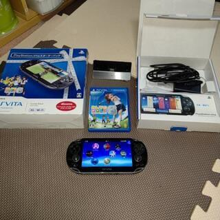「PS VITA 3G/Wi-fiモデル本体 」と「16ギガメモ...