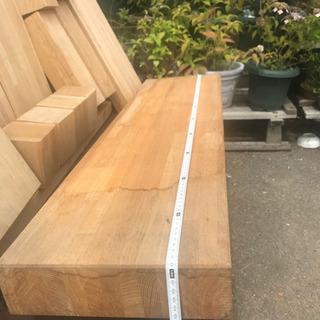 集成材、集成材天板、椅子の天板、テーブルの脚、棚板