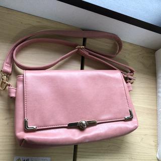くすみピンク ショルダーバッグ