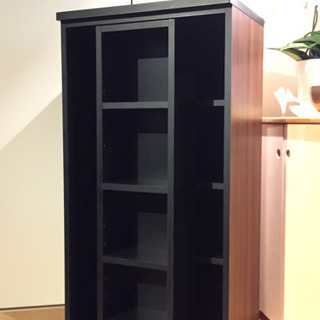 本棚 飾り棚 リビング収納 スライドラック