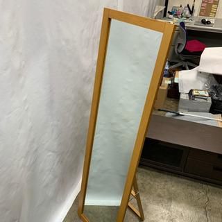 無印良品 全身ミラー 姿見 折り畳み式 高さ154cm 幅…