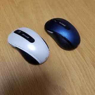 Microsoft製ワイヤレスマウス 2個セット