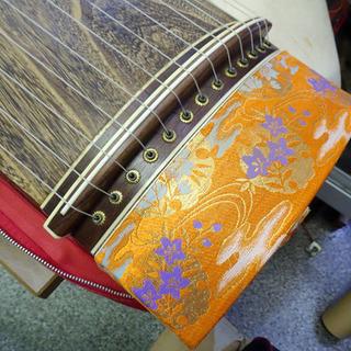 和楽器◆お琴 練習用 約全長184cm 弦楽器 □音楽 楽器 和 伝統 日本伝統 ヴィンテージ 保管品 - 楽器