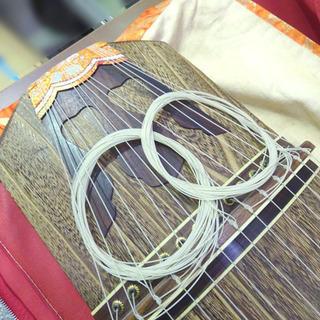 和楽器◆お琴 練習用 約全長184cm 弦楽器 □音楽 楽器 和 伝統 日本伝統 ヴィンテージ 保管品 - 札幌市