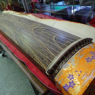 和楽器◆お琴 練習用 約全長184cm 弦楽器 □音楽 楽器 和 伝統 日本伝統 ヴィンテージ 保管品 − 北海道