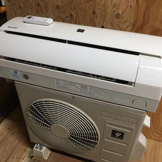 53) エアコン シャープ 100V 6-9畳用 2018年製品...