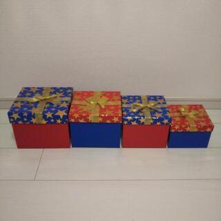 マトリョーシカ風 プレゼントボックス 4ヶセット
