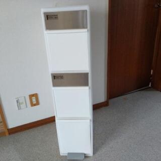 元値9000円*省スペース向けお洒落ゴミ箱*ホワイト