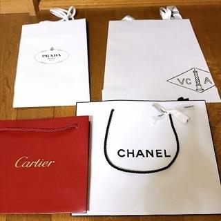 ☆ブランド紙袋☆   4枚