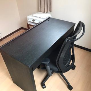 事務机/パソコン用机とokamuraチェアセット - 家具
