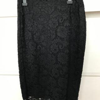 GU レースタイトスカート サイズL