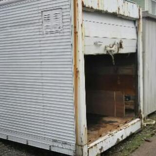 【商談成立】物置、ガレージ、保管庫、コンテナ