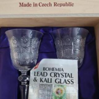 BOHEMIA Hand-cut lead crystal チェコ製