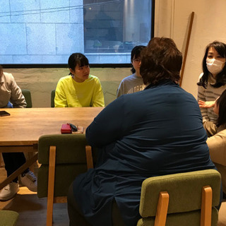 カフェで気軽に英会話の参加者募集